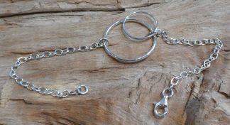 Bracelet mobile, forme ronde, Argent 925