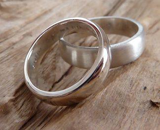 Alliances Argent 925 simples anneaux