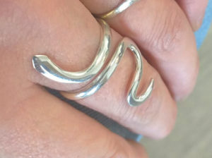 Bague Do It Yourself Argent 925, forme serpent